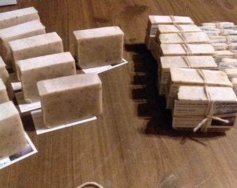 Goat Milk Soap - Goat Soap - Unscented - Homemade - Handcrafted - Lye-Lard-100% Goats Milk