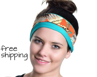 Yoga Headband - Non Slip - Ideal for Sports, Stretching, Pilates, Light Workouts, Exercising and Travel - Stretchy, Stylish & Versatile