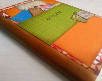 Slim Unlined Pages