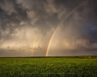 Rainbow Photography, Oklahoma, Great Plains Sky, Photo Plains, Rainbow Pictures, Photo Rainbow, Rainbow Landscape, Oklahoma Panhandle, Arts