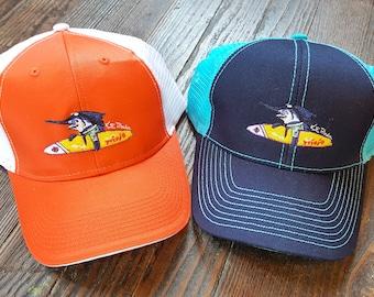 Surf Trixie Trucker cap mesh adjustable velcro  fishing