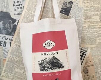 Helvellyn Canvas Tote Bag