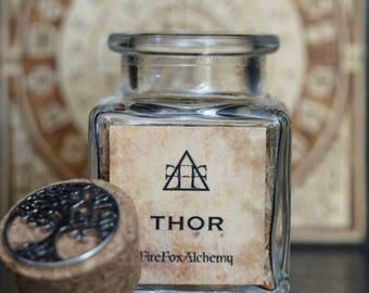 Thor Loose Incense Blend. Norse God of Thunder