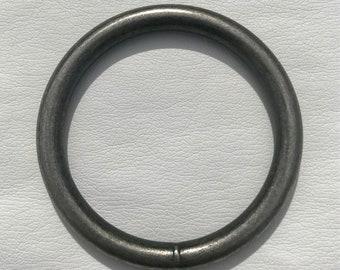 "2"" Antique Nickel Patina Ring"