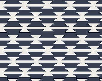 Art Gallery Arizona Knit Cotton Lycra Tomahawk Stripe by the 1/2 Yd