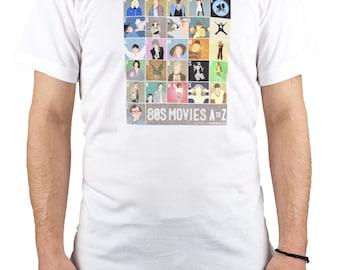 1980s Film Alphabet Shirt
