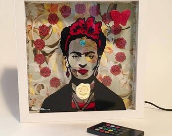 Frida shadowbox
