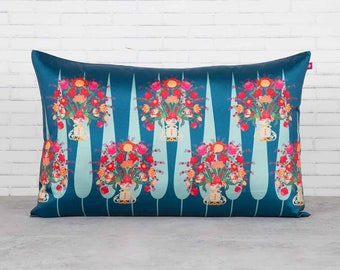 Floral beauty cushion cover 12' × 20'