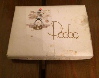 Vintage  paper box cigarette case memorabilia Antique RODOS ΡΟΔΟΣ,