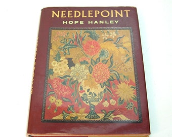 Needlepoint by Hope Hanley, Vintage Needlework Book