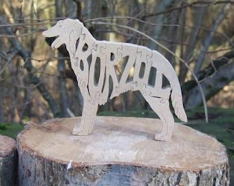 Borzoi,  Borzoi ornament, Borzoi gift, gift for Borzoi lover, Borzoi memorial, unique Borzoi gift, dog gift, dog breed gift, named borzoi