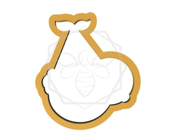 Jillbeesz Baby in a Bundle Cookie Cutter