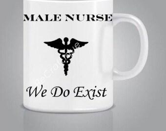 Male Nurse Coffee mug