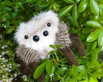 OLLIE -  Medium Limited Edition, Soft Sculpture, Fiber Art, Art Toy, Spider Plush, Halloween