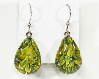 Croceyes teardrop earrings
