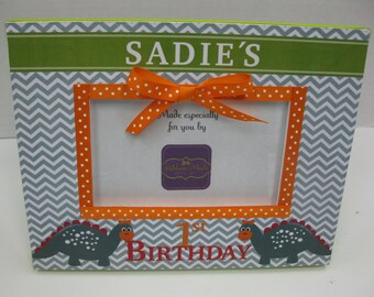 First Birthday Frame to match Invitation
