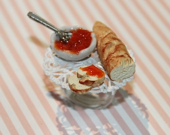 Breakfast Ring -  Miniature Food Jewelry - Food Ring - Kawaii Ring