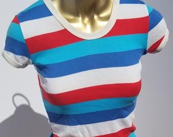Vintage Women's Striped Shirt