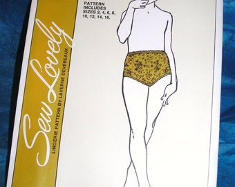 Vintage Sew Lovely Child's Panties Patterns.......Children's Briefs........Sew Easy Lingerie 1970's