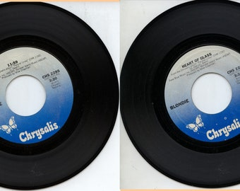 Blondie Heart of Glass 11:59 45 RPM Record
