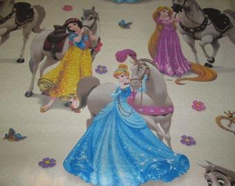 Licensed 100% Cotton Disney Cartoon - Disney Princess