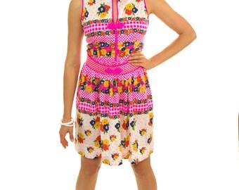 Vintage 1960s dress / Vintage Oscar de la Renta dress