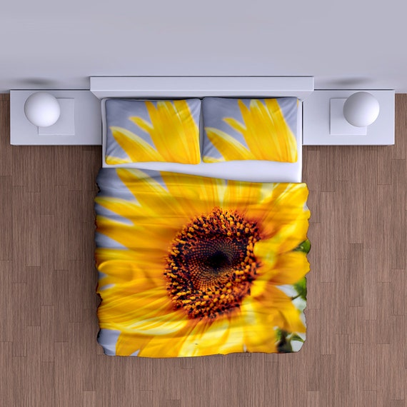 Sunflower Duvet Cover by WeChosen