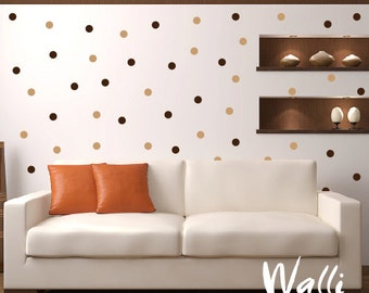 Wall decal big set - Dots  big set wall art 2 colors
