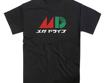 Mega Drive Japanese MD Logo Tribute Tshirt