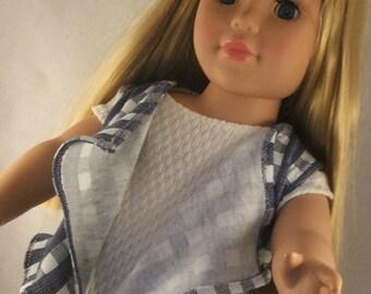 Sleeveless Cascade Vest for American Girl Doll