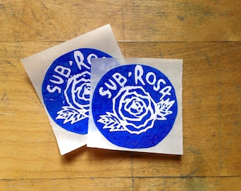 Sub Rosa Sticker Pack *Limited Edition*