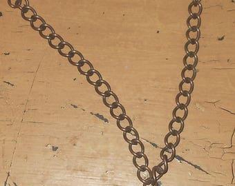 Copper Pendant Necklace - Steampunk