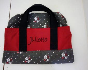 Child tote bag personalized