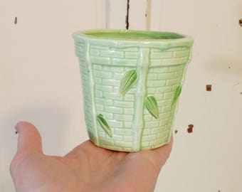 Vintage Planter | Ceramic Pot