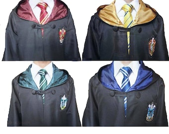 Harry Potter Robe - Kids & Adult Sizes