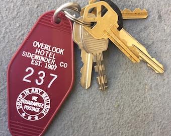 The Shining Stanley Kubrick Overlook Hotel room key