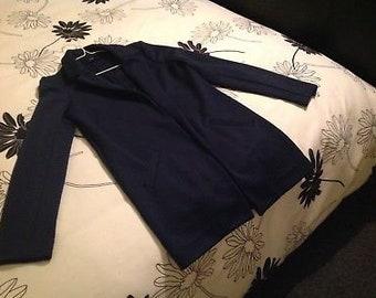 Next womens navy jacket
