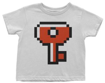 Baby's Super Mario Bros 2 Key T-Shirt