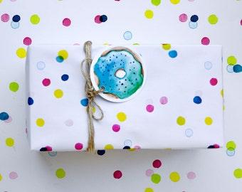 Confetti Surprise Gift Wrap