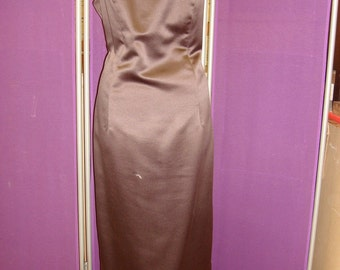 Dark Brown Jim Hjelm Occassion floor length gown