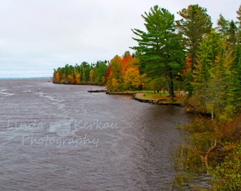 Shore of Color in the Upper Peninsula