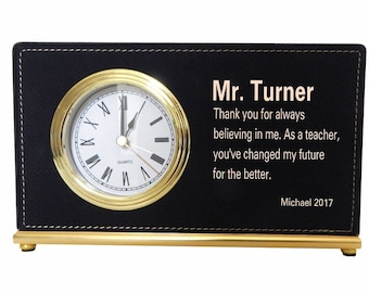 End of Year Teacher Gifts - Gift for Teacher Appreciation Personalized - Best Teacher Gifts - Teacher Week Gift from Parent,  LCT013