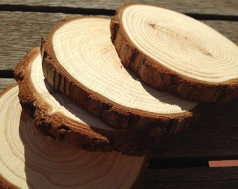 Wood slices. Wood slices. Sliced trunk. Tree slices. Decoration. Handicraft. Assembly and Construction Toys