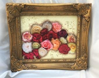 Floral Collage original piece