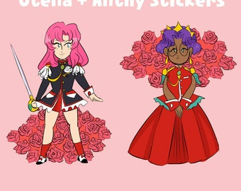 Revolutionary Girl Utena Stickers