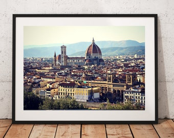 Florence, Italy - View, Wall Art, Print, Europe, Buildings