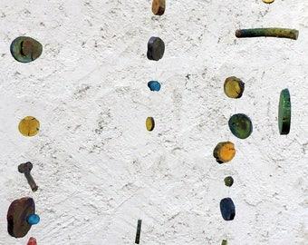 Mobile hanging JfG olive natural wood