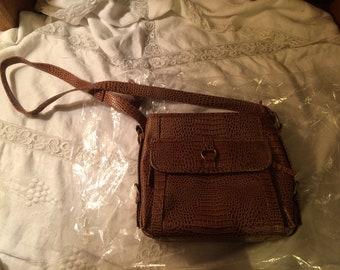 Vintage Coldwater Creek Leather Bag (Brown)