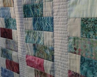Tidepool Batik quilt