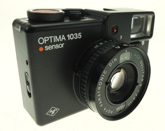 Agfa Optima Camera 1035 sensor electronic 40 mm f 2.8
